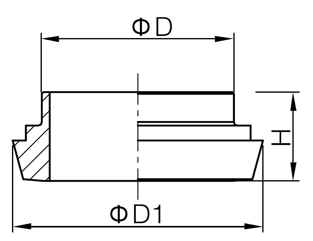 Long Welding Liner -DIN11851