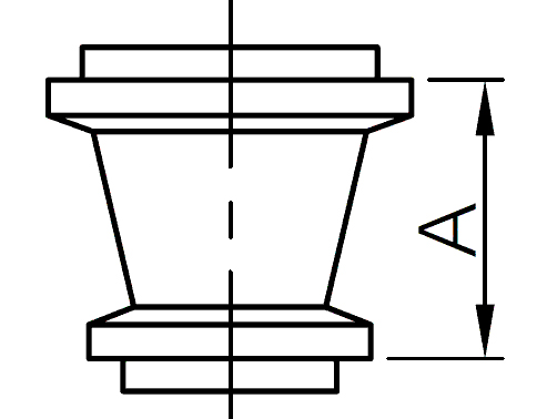 I-line reducer fittings
