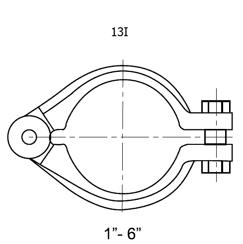 I-line CLAMP fittings