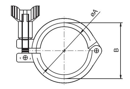 sanitary clamp