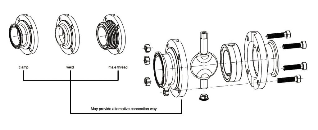 wellgreen butterfly valve parts