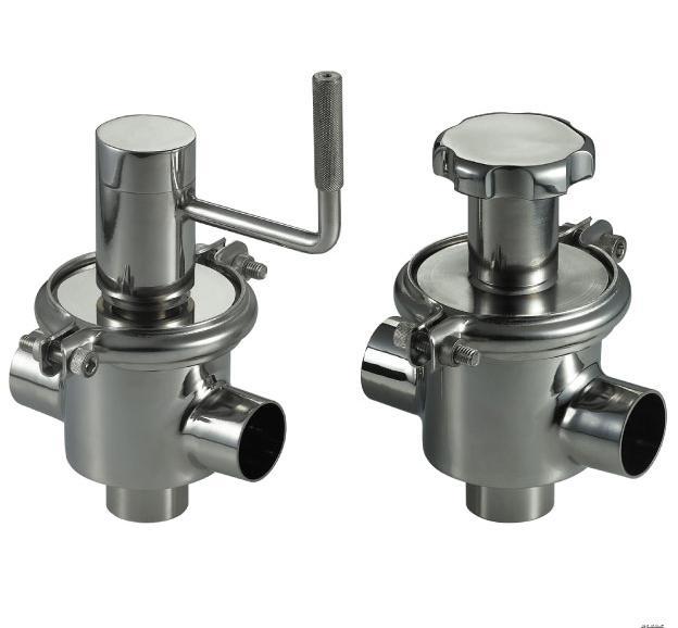 santiary pressure relief valve