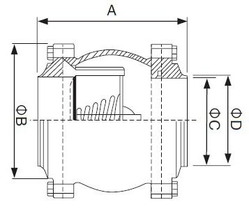 sanitary ball check valve