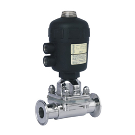 Hygienic diaphragm valves archives sanitary fittings and valves pneumatic actuated diaphragm valve ccuart Gallery