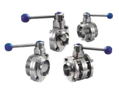 sanitary manual butterfly valve-wellgreen