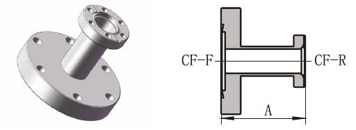 CF Reducing Adapator-Small Flange Rotatable