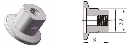 KF Female Pipe Adaptor