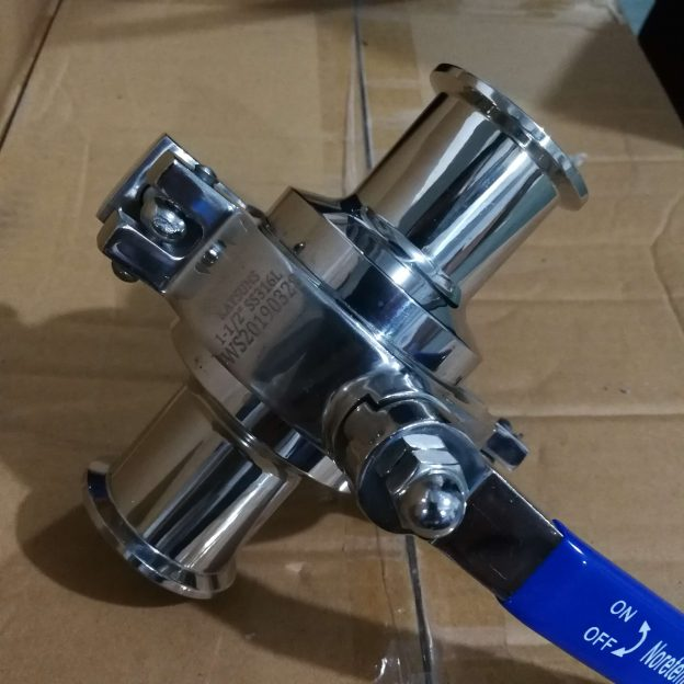 Hygienic Non-retention Ball Valve